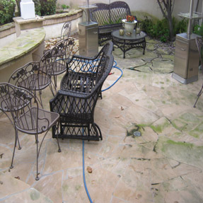 Pressure Washing Patio Brea